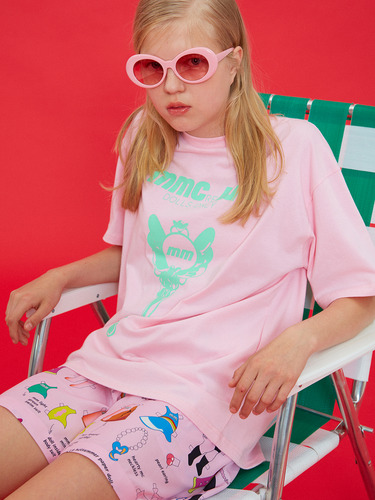 DOLLS ONLY KEY PRINT T/PINK